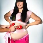 Фото беременных девушек, женщин (19)