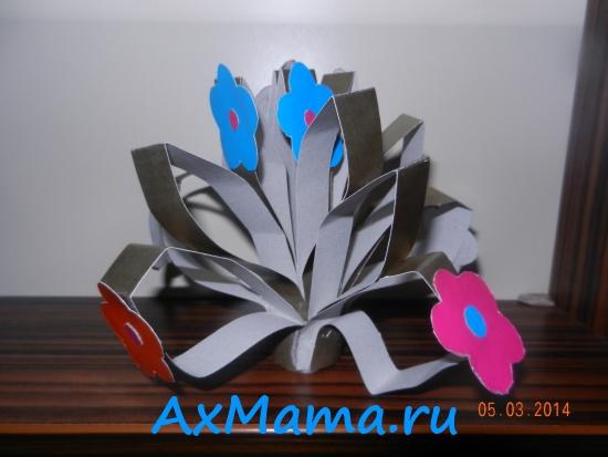 Цветы из бумаги своими руками 1 (2)