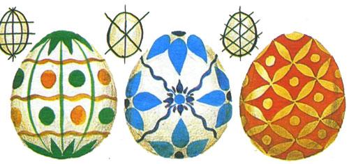 роспись пасхальных яиц (2)
