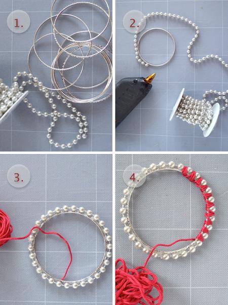 браслеты из бусин и ниток своими руками Axmamaru