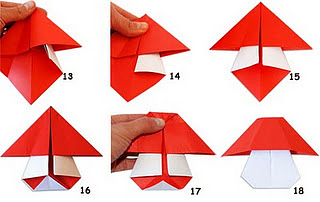 Оригами мухомор 1