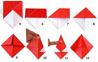 Оригами мухомор 2