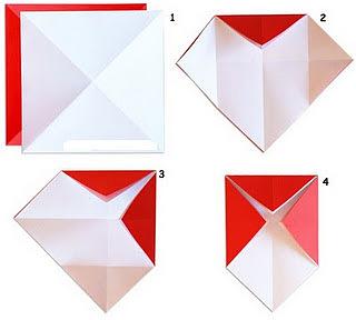 Оригами мухомор 3