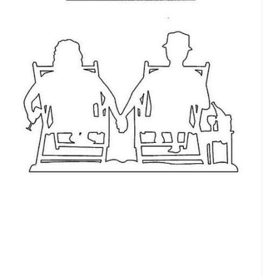 киригами люди (8)