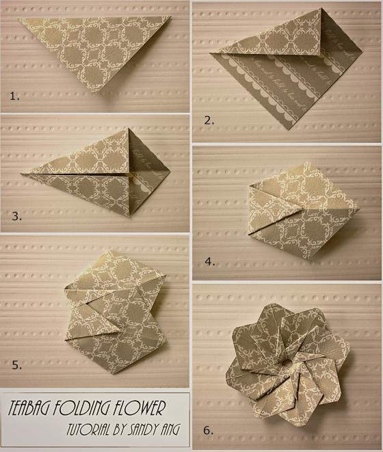 Модульное оригами цветы схемы (6)