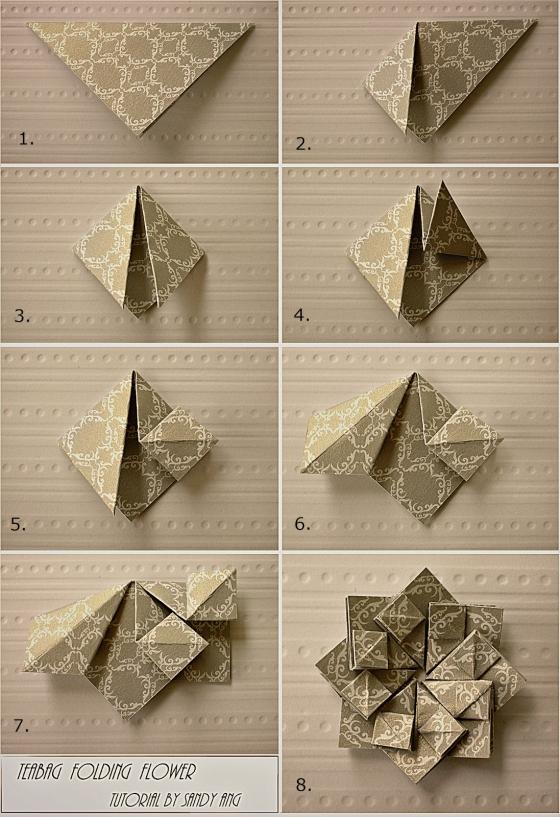 Модульное оригами цветы схемы (7)