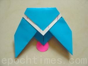 ПРОСТЫЕ ОРИГАМИ птица схема (3)