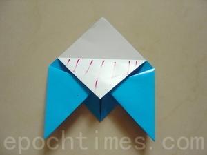 ПРОСТЫЕ ОРИГАМИ птица схема (5)