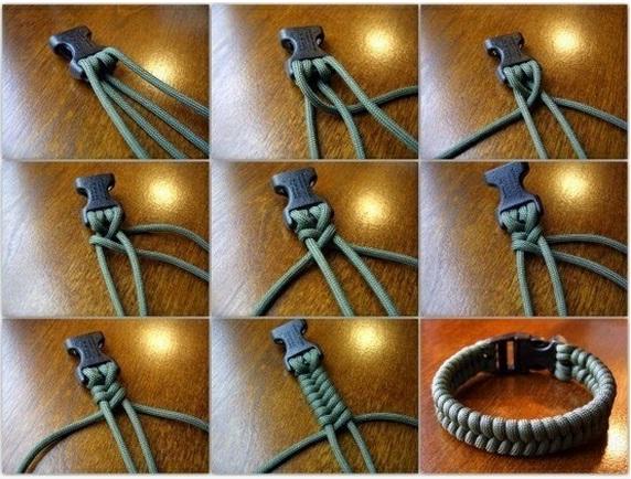 Плетение из шнура схемы