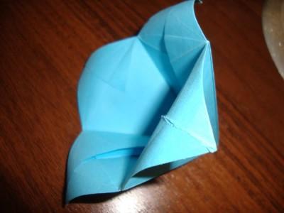 Схемы оригами из бумаги цветы колокольчик 2