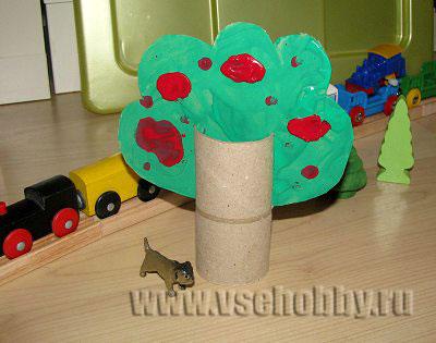 Игрушки из туалетных рулонов (11)