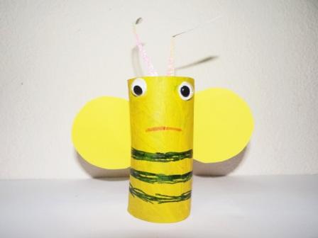 Игрушки из туалетных рулонов (3)