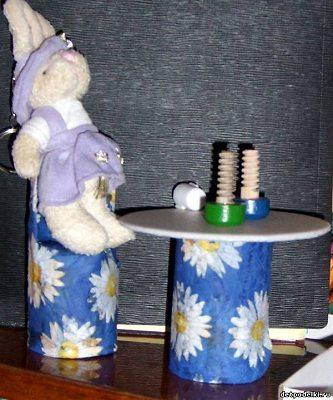 Игрушки из туалетных рулонов (8)