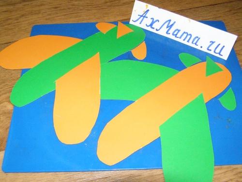 Поделки из бумаги и картона: самолет