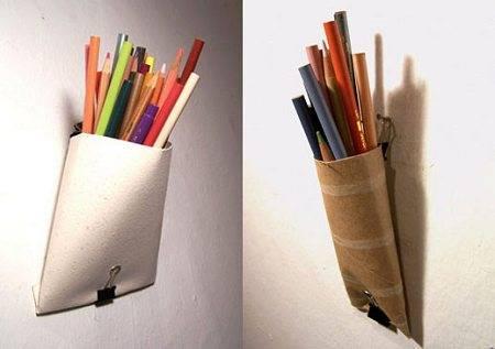 Полезные поделки из рулонов от туалетной бумаги (5)