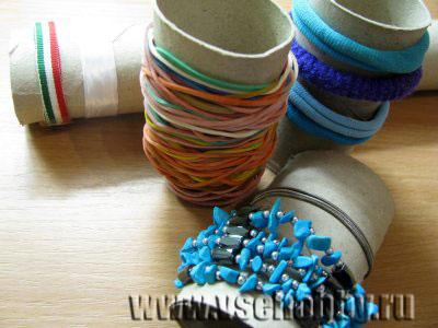 Полезные поделки из туалетных рулонов (2)
