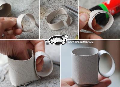 игрушки из рулонов туалетной бумаги (1)