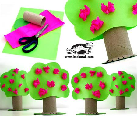 игрушки из рулонов туалетной бумаги (9)