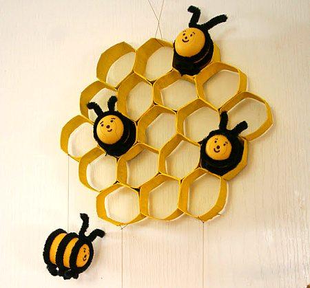Поделки своими руками-пчела