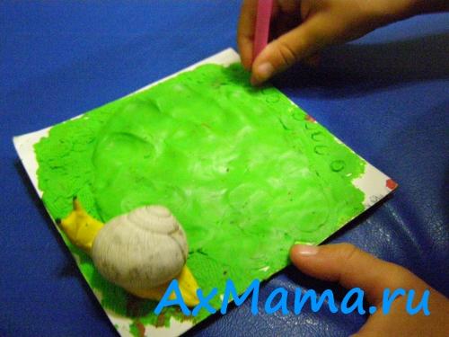 Отпечатки детских ручек и ножек своими руками