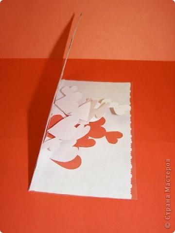 Киригами объемные открытки с сердцем (11)