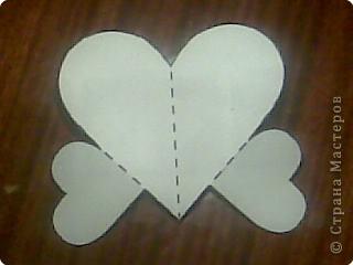 Киригами объемные открытки с сердцем (5)