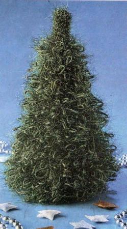 Новогодние поделки елка (2)