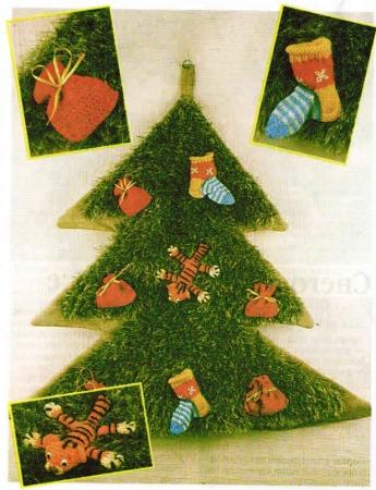 Новогодние поделки елка (3)
