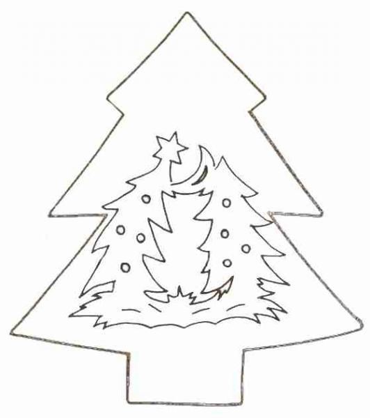Новогодние поделки из бумаги (27)