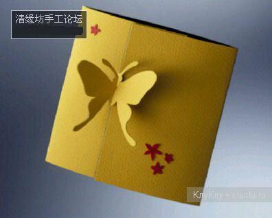 Простые киригами из бумаги схемы (10)