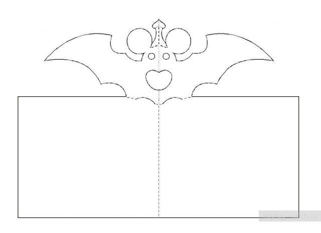 Простые киригами из бумаги схемы (14)