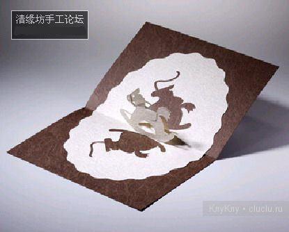 Простые киригами из бумаги схемы (19)