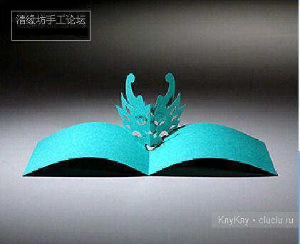 Простые киригами из бумаги схемы (26)