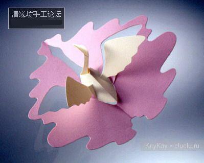 Простые киригами из бумаги схемы (4)