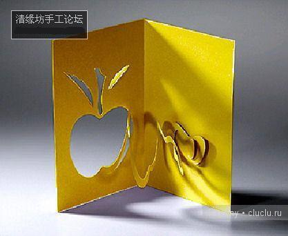 Простые киригами из бумаги схемы (6)
