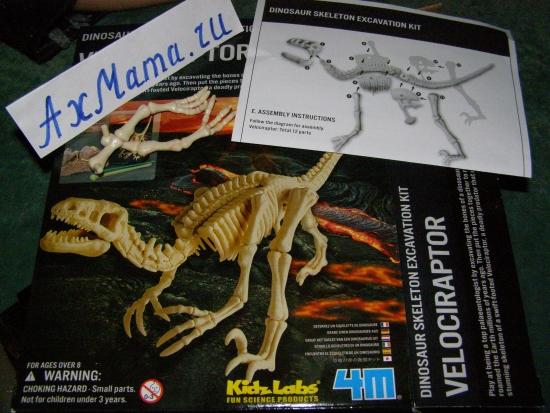 игрушки для детей: раскопки динозавров