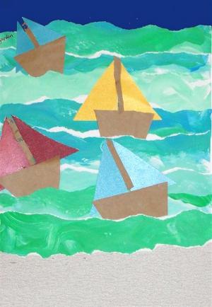 Летние поделки на морскую тематику (14)