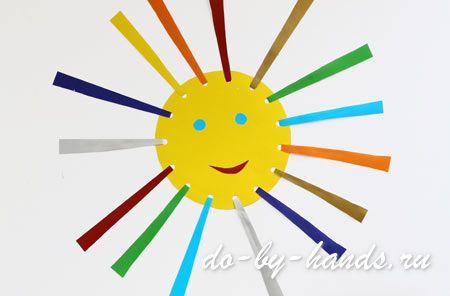 Летние поделки своими руками солнышко (5)