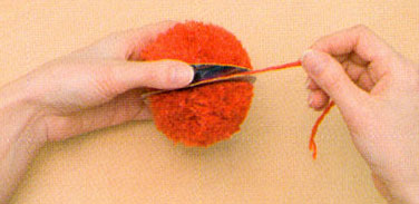 Цветы из ниток одуванчики (6)