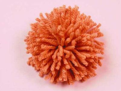 Цветы из ниток одуванчики (8)