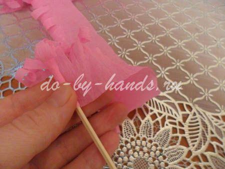 Весенние цветы из бумаги гиацинты (10)