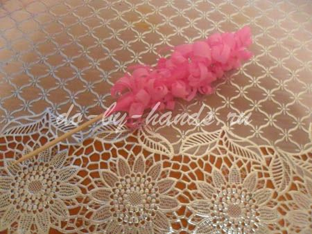 Весенние цветы из бумаги гиацинты (12)