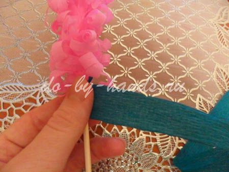 Весенние цветы из бумаги гиацинты (15)