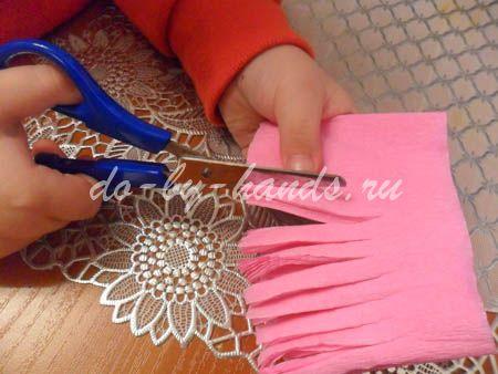 Весенние цветы из бумаги гиацинты (5)