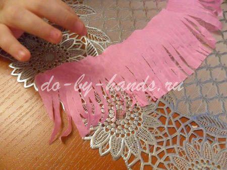 Весенние цветы из бумаги гиацинты (6)