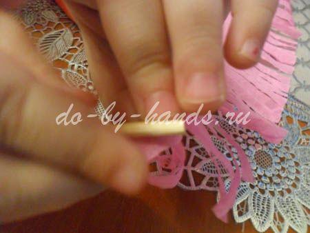 Весенние цветы из бумаги гиацинты (7)