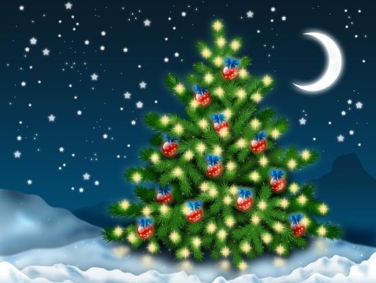 Короткие детские стихи про новогоднюю елку (1)