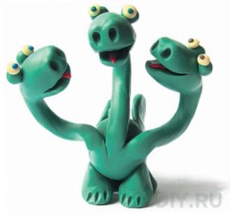 дракон из пластилина (3)