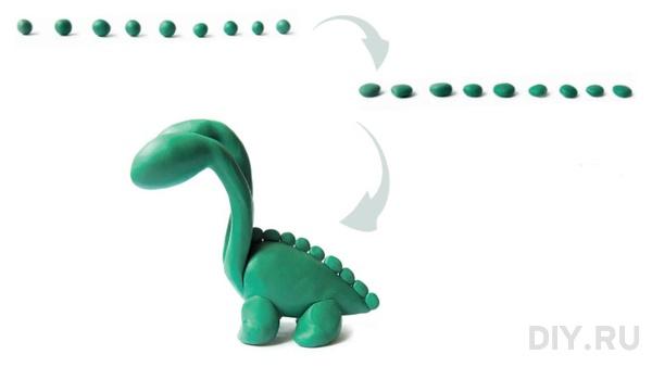 дракон из пластилина (6)