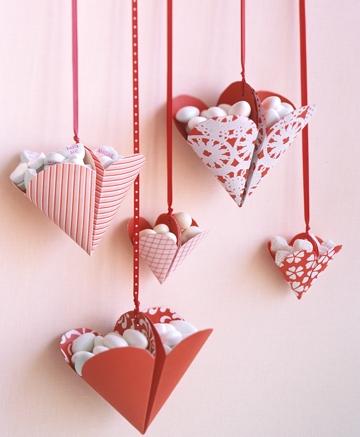 киригами сердечки украшение на день святого Валентина 1 (2)
